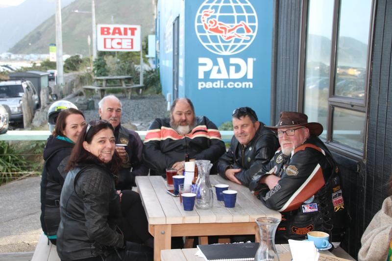 Cafe Social Ride Owhiro Bay 9 June 2019
