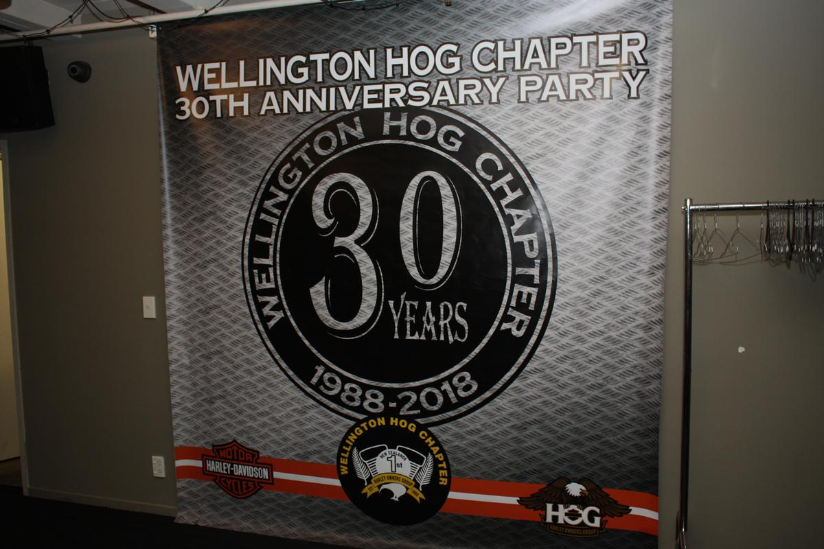 HOG 30 Year Party Celebration 6 July 2019