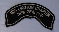 Wellington Chapter Rocker Patch (Small)